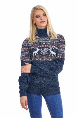 08280f194d077 Свитера и шарфы с оленями из шерсти купить отличный подарок с ...